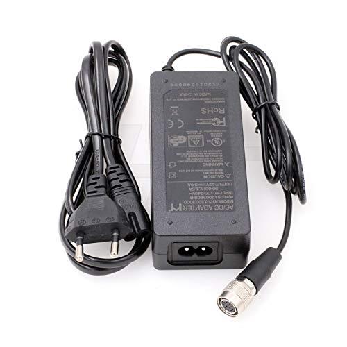 HangTon Hirose 12 pin femmina AC DC alimentatore adattatore 12V 3A per Sony Dalsa Industrial AVT CCD Camera