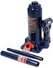 メルテック 車用 油圧ボトルジャッキ 4t ヘビー 最高値/最低値 386/195mm 1年保証 ブローケース付 Meltec FA-71