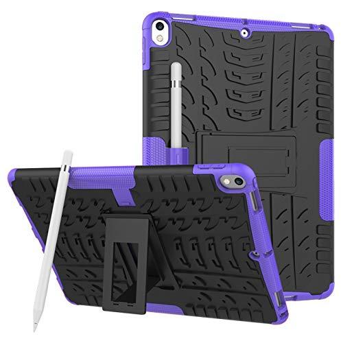 voor iPad Pro 12.9 Tablet Hoesje Case Case, Heavy Duty Shock Absorption Armor TPU/PC Hybrid Impact Schokbestendige Defender Beschermhoezen iPad Pro 12.9 2e Generatie (scherm 12.9 Inch), for iPad Pro 12.9 2th, 8