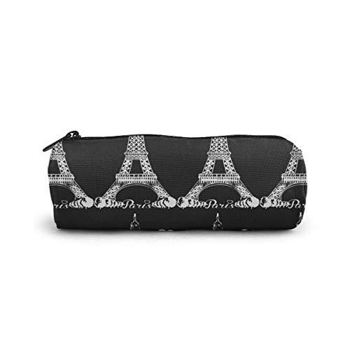 Yuanmeiju Pen Bag Paris Eiffel Tower Mäppchen Glasses Case Tote Cosmetic Bags Eyeglasses Case for Girls Boys Sunglasses Holder with Zipper