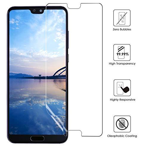 VICKSONGS Schutzfolie für Huawei P20,(3Stück) Ultra Clear Displayschutzfolie (Nicht Glas) Soft Displayschutz [Anti-Bläschen][Anti-Fingerabdruck] Displayfolie Folie Screen Protector für Huawei P20 - 2