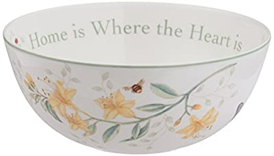 Lenox Butterfly Meadow Sentiment Spoon Rest, Cherish Yesterday Dream Tomorrow Live Today, 8-1/2-Inch