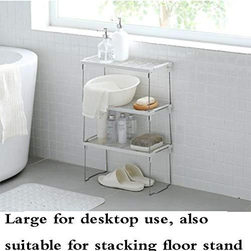 QSAA praktisch kruidenrek in smal en uittrekbaar kruidenrek staandend praktisch kruidenrek voor het maken van kruidenrek overlay multilayer rek keuken badkamer opvouwbaar tafel commode opslagrek