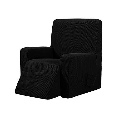 Honeyhouse Sofabezug Jacquard Sesselbezug, Stretchhusse für Relaxsessel Komplett, Elastisch Bezug für Fernsehsessel Liege Sessel