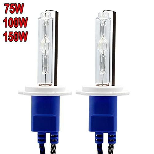 Luces led para Autos 2 PCS HID Xenon Bulb H1 H3 H7 H8 H1 H27 9005 9006 880 12V 75W 100W 150W Lámpara de reemplazo de Faros de automóviles 4300K 6000K 8000K Luces led para Coches