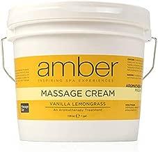 Amber Massage & Body Vanilla Lemongrass Massage Cream