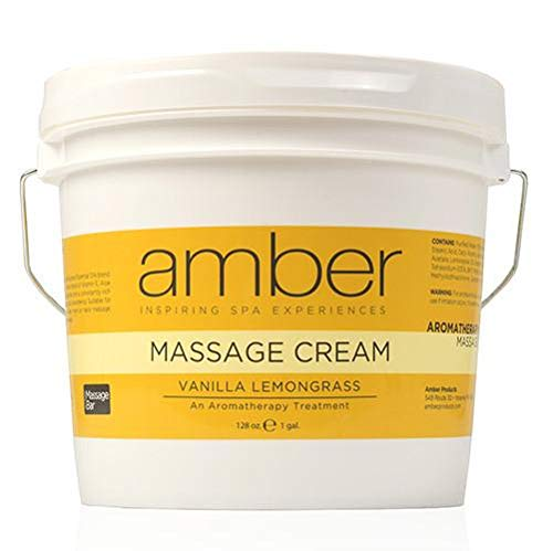 Great Deal! Amber Massage & Body Vanilla Lemongrass Massage Cream