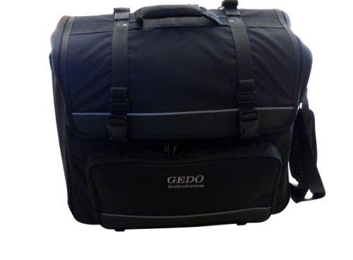 Trolley Koffer für 120 Bass Akkordeon auf Rollen in schwarz Mod. GEDO