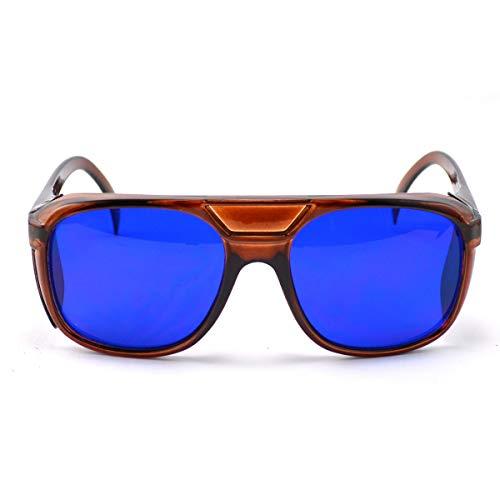Yxs Laser Brillen, Augenlaserschutz Glasses650-780nm, Modern Wrap-Around Medical Brillen für Arzt und Laser-Techniker