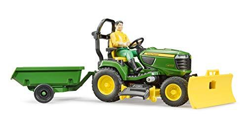 bruder- Tracteur Tondeuse, BR62104