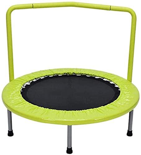Hogar niños trampolín con reposabrazos Cama de Rebote de Primavera de trampolín para Camas de Salto Infantil Aumentar Juguetes
