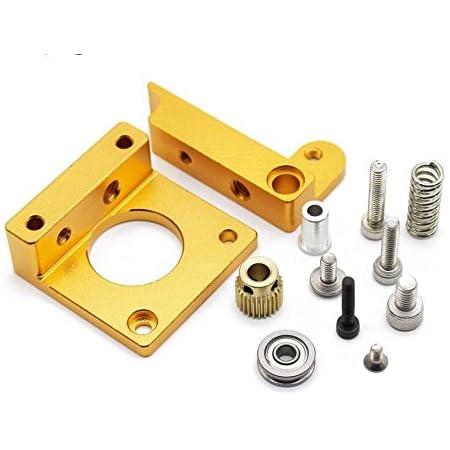 Xsentuals 3D Printers Parts MK8 Extruder Aluminum Alloy Block extruder
