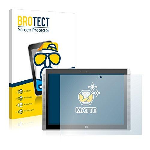 BROTECT 2X Entspiegelungs-Schutzfolie kompatibel mit HP Pavilion x2 12 Bildschirmschutz-Folie Matt, Anti-Reflex, Anti-Fingerprint