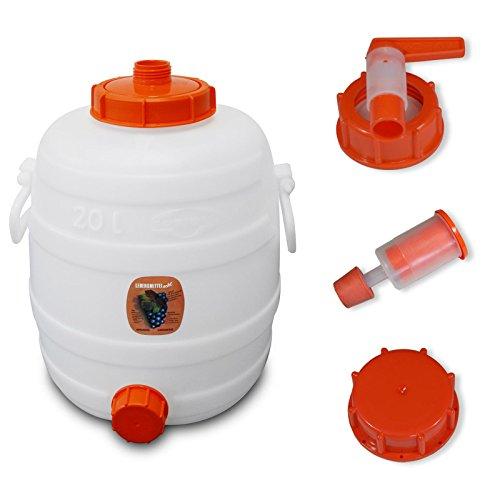 Speidel Getränkefass 20 Liter Rund mit allem Zubehör