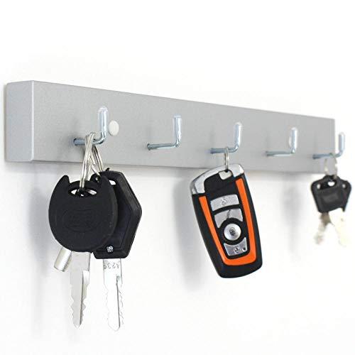 WANDOM massief hout creatief huis ingangdeur sleutel haak veranda schoenenkast wandbehang punch-vrije bureaudeur sleutel hangen A4769.