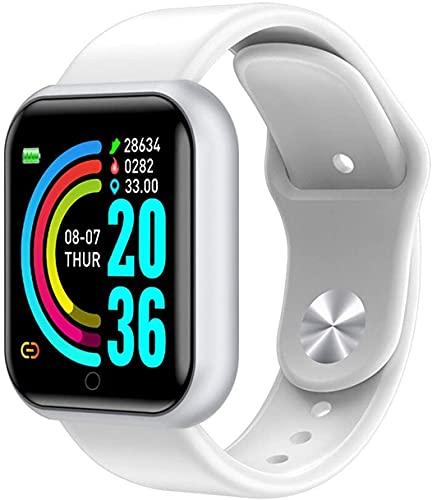 Smartwatch Bianco Bluetooth - Fitness Tracker White - Model Y68