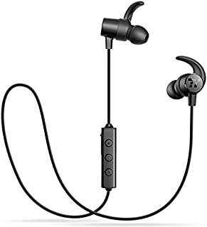 5383ec4d21f TaoTronics Bluetooth Headphones Wireless 5.0 in Ear Earbuds Sports Magnetic  Earphones with aptX Stereo Built in