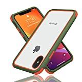 Geestyle Cover Compatibile con iPhone X, iPhone XS, iPhone 10, Silicone in TPU, Sottile Antiurto...