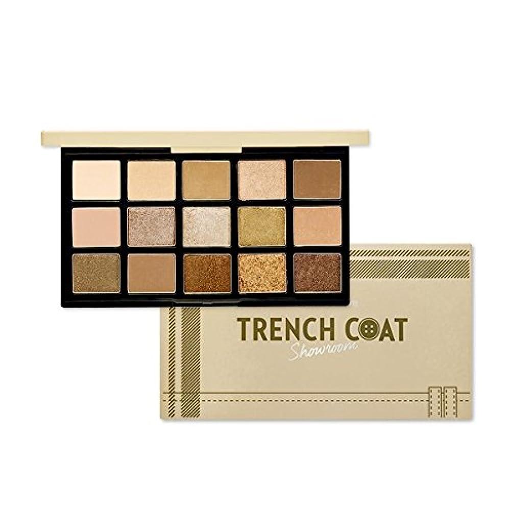 スラックアンソロジー苦痛ETUDE HOUSE Play Color Eye Palette - Trench coat Showroom/エチュードハウスプレイカラーアイパレット - トレンチコートショールーム [並行輸入品]