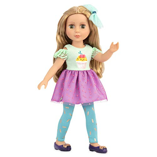Glitter Girls Dolls by Battat – 14-inch Posable Fashion Doll Sashka with Outfit – Toys, Clothes, and Accessories for Kids Ages 3 and Up, Blonde (GG51016Z)