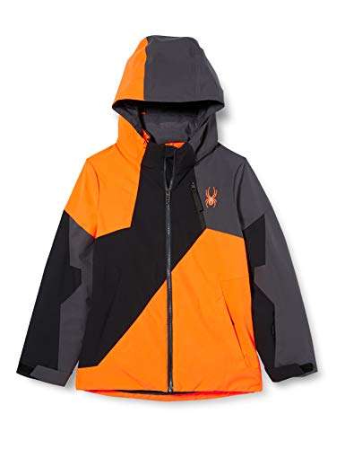 Spyder Kinder Ambush Jacke, Bryte Orange, 152