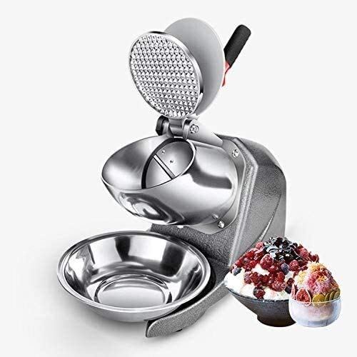 Ice blender Ice Crusher Smoothies Electric Maker for Slushies Stainless Steel Housing 85Kg/Hour Rust-Proof Safety Switch Easy to Use Easy to Control best gift