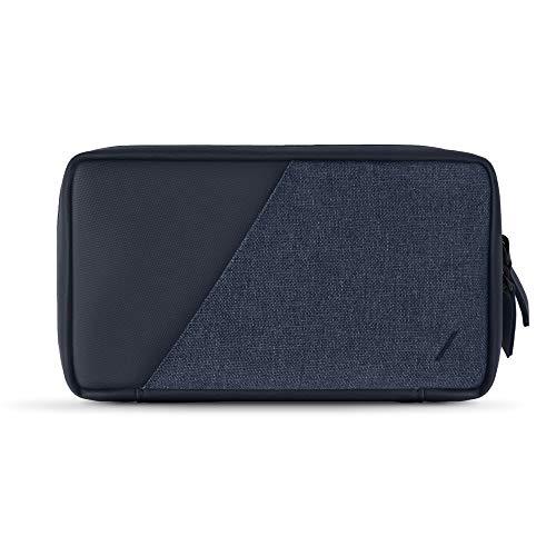 Native Union Stow Organizer - Leichte Reisetasche aus strapazierfähigem Canvas, Speichert Kabel, Ladegeräte & mehr (Slate)