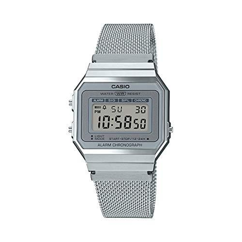 Casio Juventud Vintage Daily Alarm Quartz A-700Wm-7A A700Wm-7A 100M Reloj de las mujeres