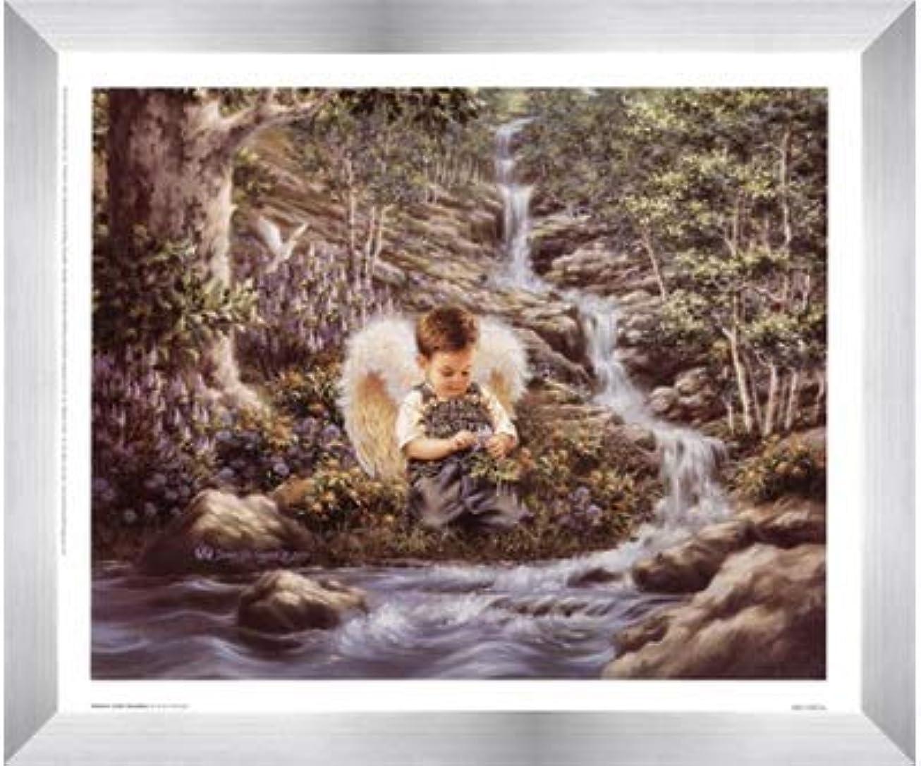 サロンエイズ石炭Nature 's Little Guardian By Dona Gelsinger?–?12?x 10インチ?–?アートプリントポスター LE_474489-F9935-12x10