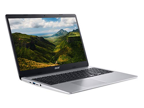 Acer Chromebook 315 CB315-3H - (Intel Celeron N4020, 4GB RAM, 64GB eMMC, 15.6 inch Full HD Display, Chrome OS, Silver)