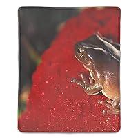 マウスパッド カエル レーザー&光学マウス対応 防水/洗える/滑り止め サイズ:18 x 22 x 0.3 cm
