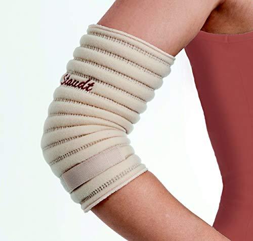 STAUDT Ellbogen-Bandagen - 2 Stück - Größe M - gegen Tennisarm und Ellbogen-Schmerzen - nächtliche Anwendung - eine gute Alternative zu Manschetten und Schienen (SomniShop Set)