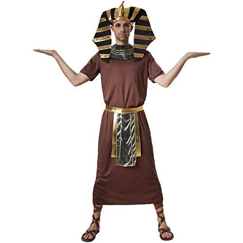 dressforfun 900551 - Costumi Uomo Adulti Faraone Ramsete, Faraone dell'Antico Egitto (XXL | No. 302537)
