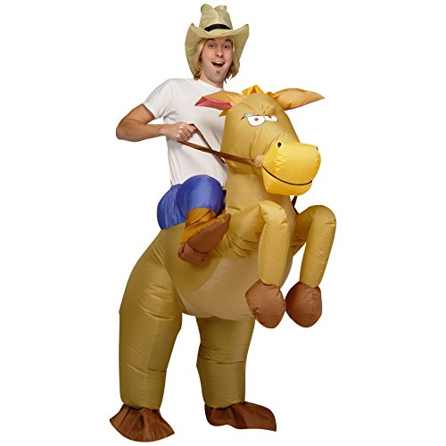 MC Inflatable Riding On Horse Halloween Costume OSFM