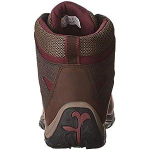 Timberland Women's Norwood Mid Waterproof Hiking Boot, Dark Brown, 7.5 Medium US