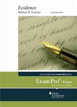 Paperback Exam Pro on Evidence (Essay) (Exam Pro Series) Book