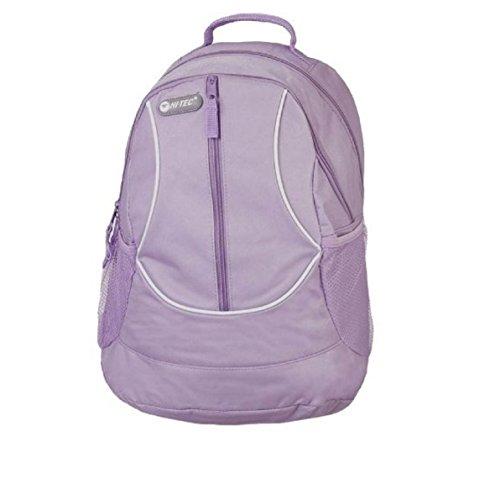 Official HI-TEC Ladies Girls Gym Sports KIT Backpack Rucksack School Travel Luggage Bag New Lilac