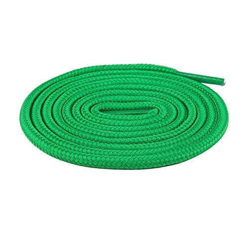 Generic Mode runde Schnürsenkel bunte farbige Schnürsenkel Sportschuhe Turnschuhe Seil Unisex elastische Laufen athletische Schnürsenkel-grün 100Cm