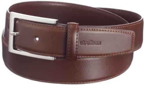 Strellson Premium Herren Gürtel 3502 Strellson Premium Belt 3,5 cm, Gr. 85, Cognac (55)