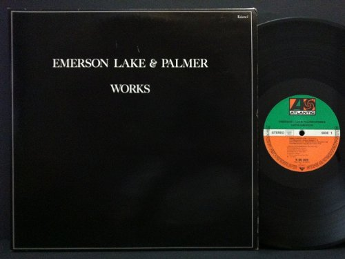 EMERSON LAKE & PALMER - WORKS 2xLP (14031)