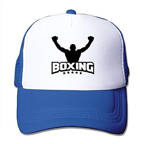 Boxing F1 Big Foam Trucker Baseball Cap Mesh Back Adjustable Cap