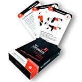 figgrs Trainingskarten Fitnessband Basics I 50 Fitness Übungen zur Steigerung von Kraft & Stabilität Aller Muskeln I Sport für zuhause I Für Männer und Frauen I Von Anfänger bis Profi