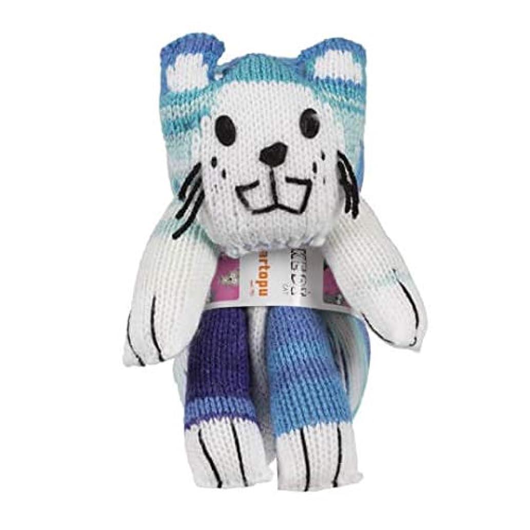 Kartopu Magic Kitty Knitting Yarn Kit, 100% Acrylic, 100 g (3.5 oz), Yarn Weight: 3 : Light-Dk, Yarn Length: 270 m (295 yd), (KF821)