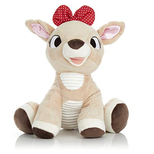 Clarice the Reindeer - Stuffed Animal Plush Toy