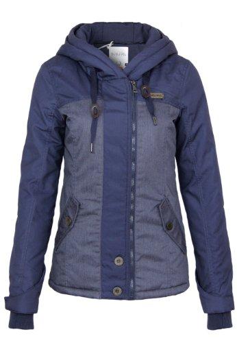 Sublevel Übergangs/Winter Jacke mit Daumenloch, Größe:M;Farbe:Blue