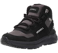 Merrell Ontario 85 Waterproof Big Kid 10.5 Black