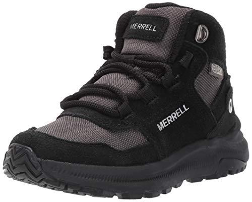 Merrell unisex child Ontario 85 Wtrpf Hiking Boot, Black, 13.5 Big Kid US