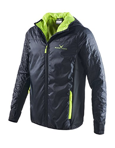 Black Embout Crevice Messieurs S Outdoor Jacket, Anthracite, S