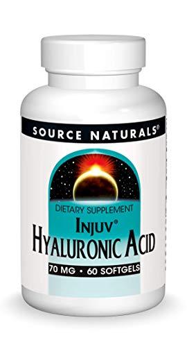 Source Naturals Hyaluronic Acid Injuv 70mg - 60 Capsules