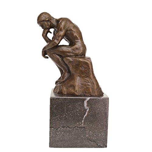 Toperkin Rodin Bronze Statue Der Denker Bronze-Skulptur TPE-185